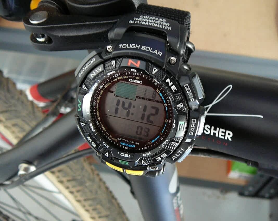 Casio PAG240 08-01-2012 bike 1