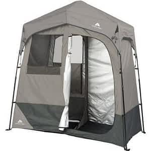 Ozark Trail 2-Room 7' x 3.5' Instant Shower