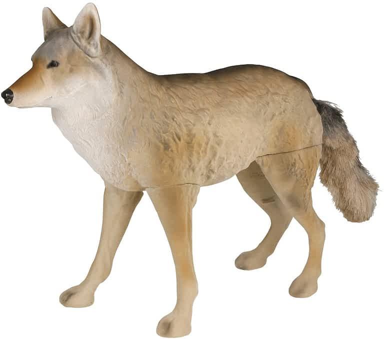 Flambeau Predator Masters Series Flocked Lone Howler Coyote Decoy