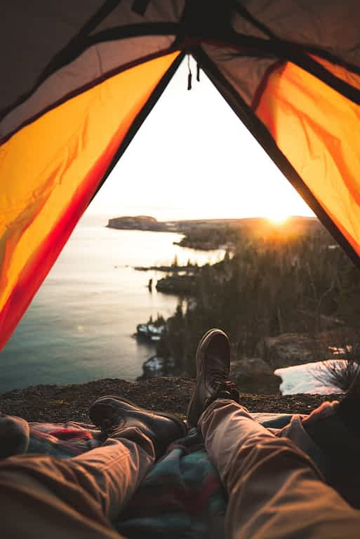 hike in camping