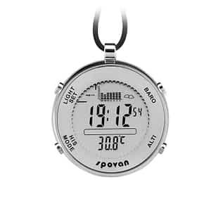 niceEshop(TM) Spovan Multi-functional Outdoor Waterproof Fishing Pocket Watch