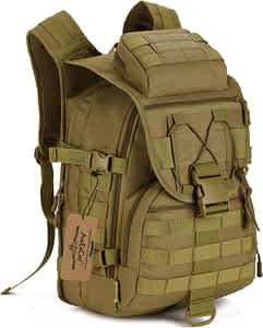 ArcEnCiel 40L Camping Bags Waterproof Molle System Backpack