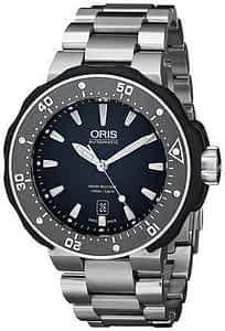 Oris Men's 73376827154MB Divers Titanium Watch