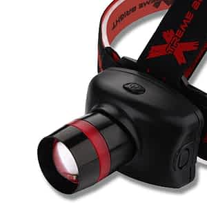 Xtreme Ultra Bright Zoomable LED Headlamp