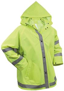 Rothco Reflective Rain Jacket