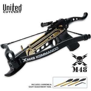 United Cutlery UCB3M48 M48 80 Lb. Self Cocking Crossbow Pistol