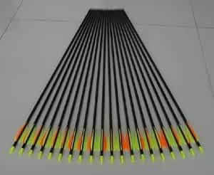 Golden Power Fiberglass Practice/hunting Arrows